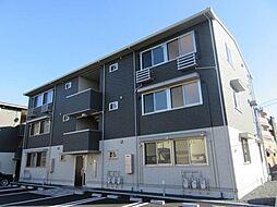 滋賀県大津市玉野浦の賃貸アパートの外観