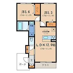 仮)シャーメゾン大江2丁目[1階]の間取り