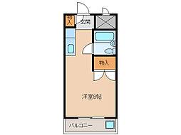 アクティ24[3階]の間取り