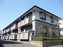 東京都葛飾区水元2丁目の賃貸アパートの外観