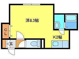 恵み野駅 3.9万円