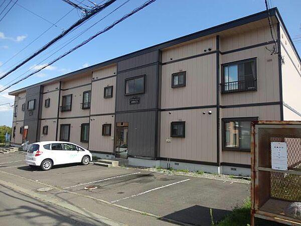 アイランドミドル勇舞II A・B 2階の賃貸【北海道 / 千歳市】