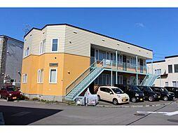 北海道函館市追分町の賃貸アパートの外観