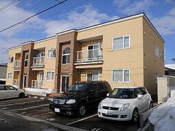 北海道亀田郡七飯町大川6丁目の賃貸アパートの外観