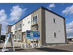北海道函館市日吉町2丁目の賃貸アパートの外観