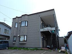 北海道函館市赤川町の賃貸アパートの外観