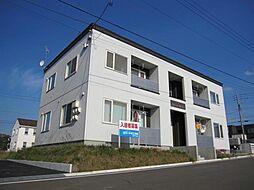 北海道亀田郡七飯町大中山4丁目の賃貸アパートの外観
