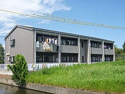 三重県津市香良洲町の賃貸アパートの外観