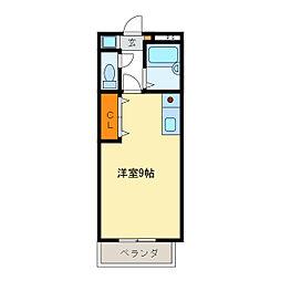 西丸之内トレゾア[3階]の間取り