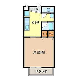 サープラスY・M[2階]の間取り