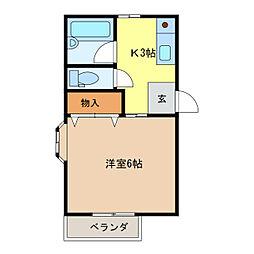津新町駅 2.4万円