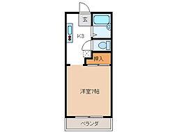 小宮ハイツ[1階]の間取り