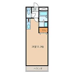 グレイスピア[2階]の間取り