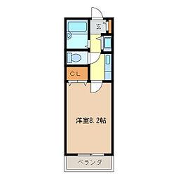 サザンブリーズ[1階]の間取り