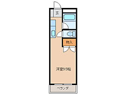 江戸橋ロイヤルハイツ[3階]の間取り