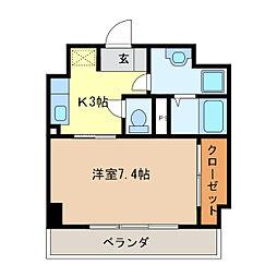 プライム北丸之内[2階]の間取り