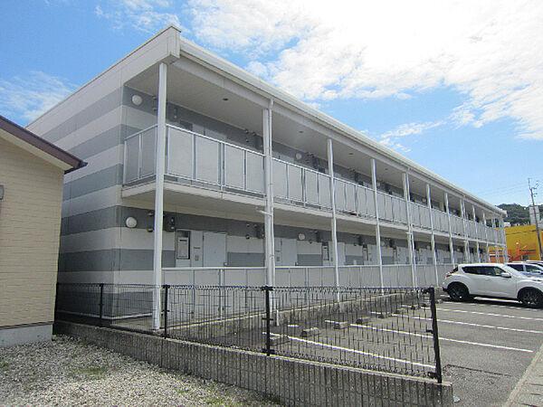 徳島県鳴門市撫養町斎田字北浜の賃貸アパートの外観