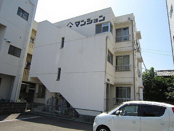 徳島県鳴門市撫養町斎田字浜端南の賃貸マンションの外観