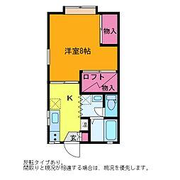 アコーダンス松田[2階]の間取り