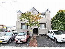 新潟県新潟市西区寺地の賃貸アパートの外観