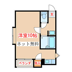 谷山駅 3.6万円