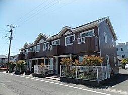 鹿児島県指宿市湯の浜1丁目の賃貸アパートの外観