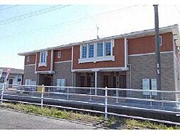 鹿児島県指宿市東方の賃貸アパートの外観