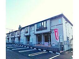 鹿児島県日置市伊集院町下谷口の賃貸アパートの外観