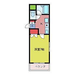 協和ビル[3階]の間取り