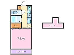ロイヤルプラザ小沢[3階]の間取り