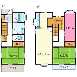 裾野駅 8.0万円