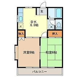 モン・ルポ[2階]の間取り