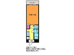 ディークレスト笹口[9階]の間取り