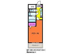 GEO笹口壱番館[5階]の間取り