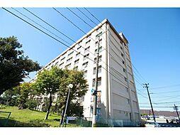 上所マンションA棟[2階]の外観