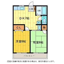 レトア松茂[2階]の間取り