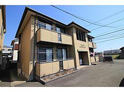 徳島県徳島市川内町平石若宮の賃貸アパートの外観