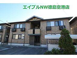 徳島県徳島市東吉野町3丁目の賃貸アパートの外観