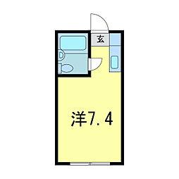 ビクトリーアパート[2階]の間取り