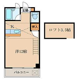 マンションFBC[2階]の間取り