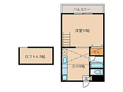 グリーンハイツKANOYAII[1階]の間取り