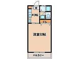 札元大丸マンション[305号室]の間取り