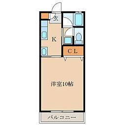 札元大丸マンション[101号室]の間取り