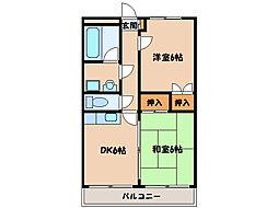 メゾン・それいゆ[3階]の間取り