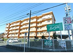 静岡県浜松市中区新津町の賃貸マンションの外観