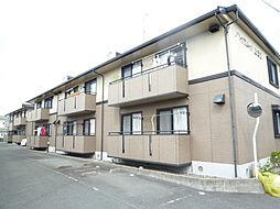静岡県浜松市中区上島6丁目の賃貸アパートの外観