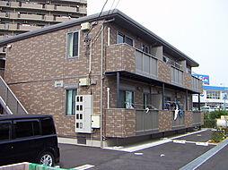 静岡県浜松市中区上島7丁目の賃貸アパートの外観