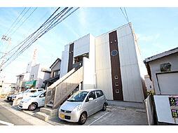 静岡県浜松市中区西浅田1丁目の賃貸アパートの外観