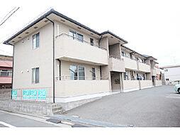 静岡県浜松市中区上浅田2丁目の賃貸アパートの外観