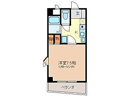 ロイヤルN・YII[4階]の間取り